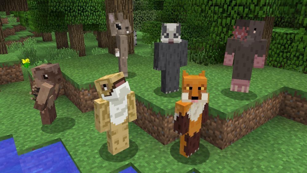 Image de Pack de skins Guerriers & Bêtes Minecraft2