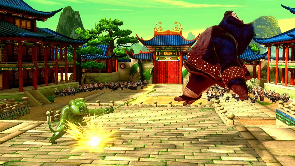 Image de Kung Fu Panda Skin: Maître Singe Jombie