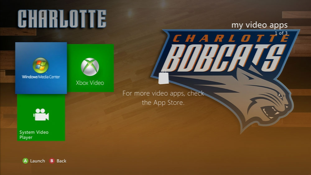 Image from NBA: Bobcats Game Time