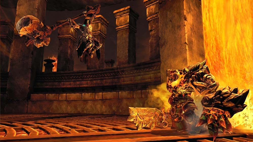 Image from Darksiders II launch TV commercial