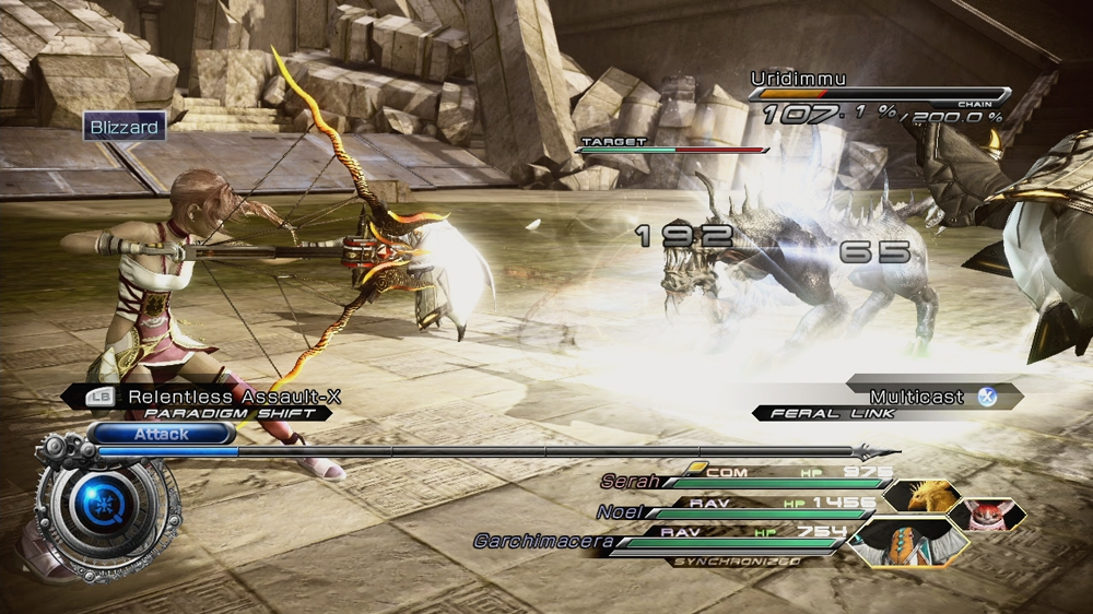 Image from Serah's Weapon: Genji Bow