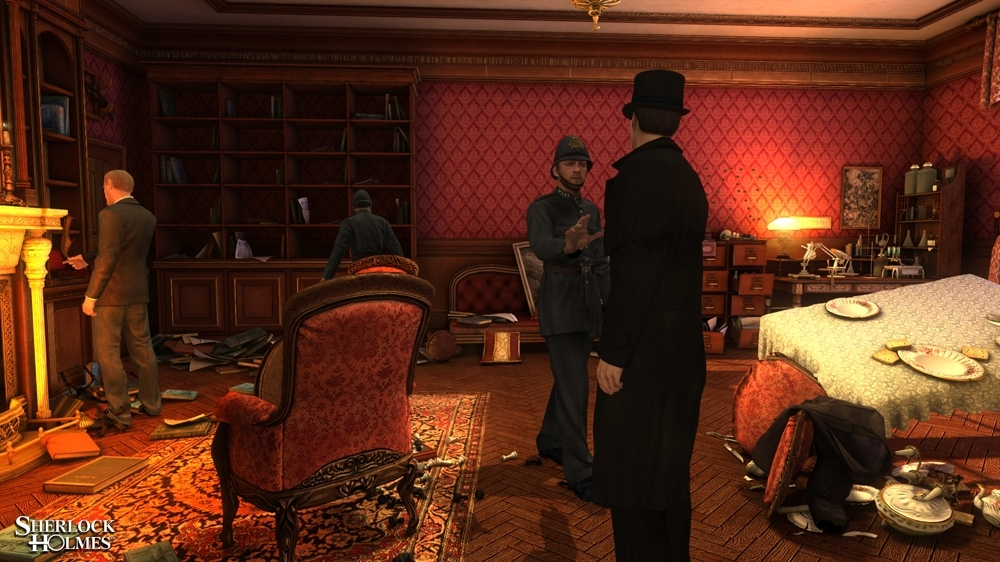Image from The Testament of Sherlock Holmes - Teaser 1