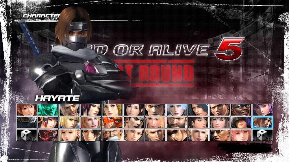 Image from DOA5LR Fighter Force Hayate