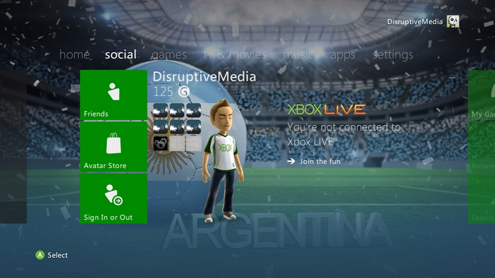 Image from World of Football - Argentina Theme