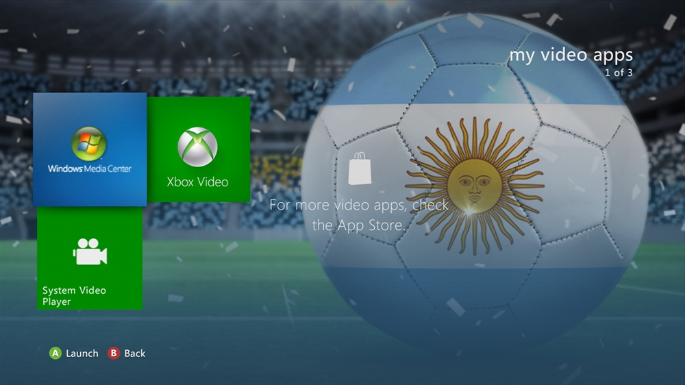 Imagen de World of Football - Argentina Theme