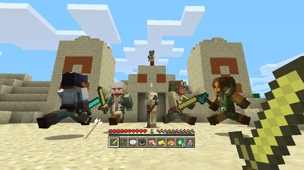 Image de Pack de skins biome colons Minecraft 1
