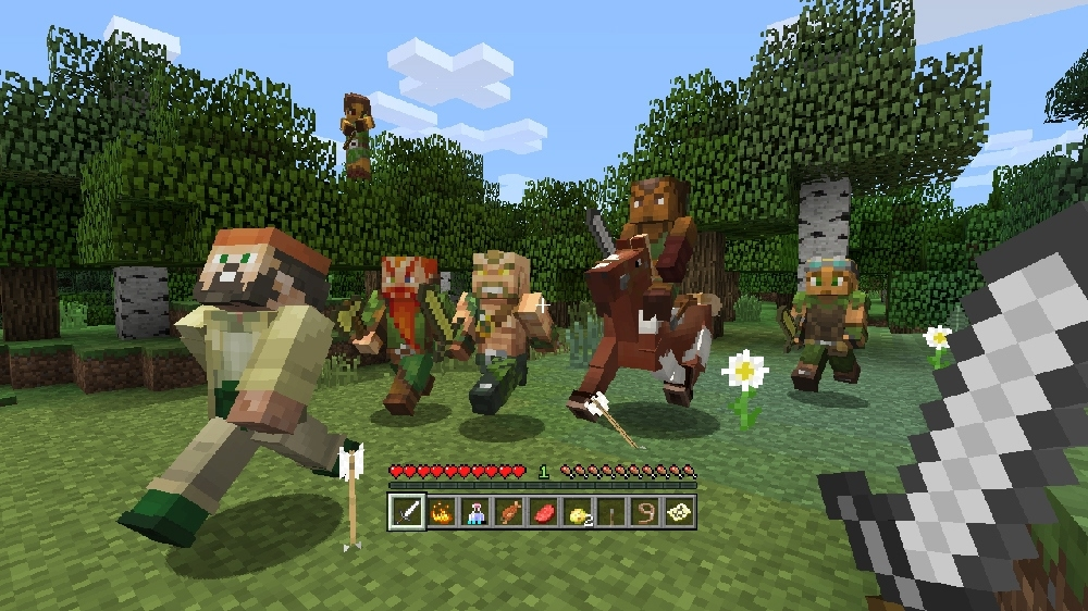 Image from Minecraft Biome Settlers Skin Pack 1