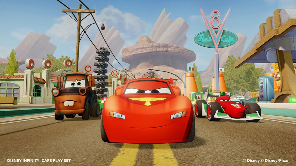 Image from Cars Play Set Trailer