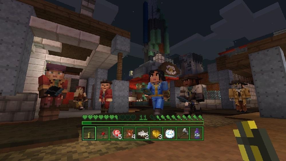 Imagen de Popurrí Fallout de Minecraft