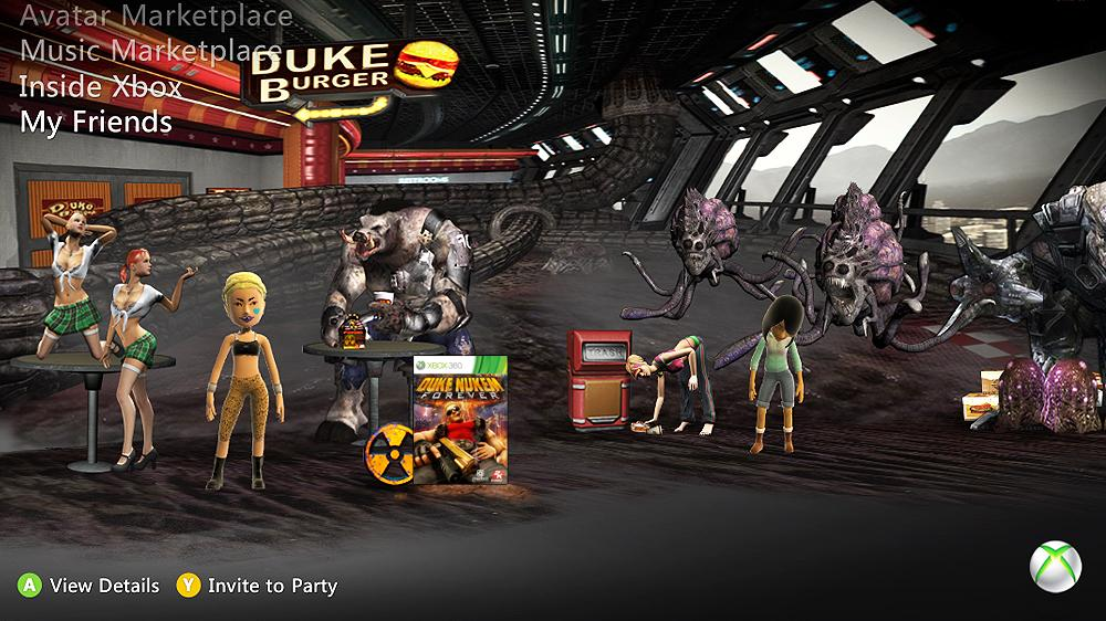 Image from Official Duke Nukem Forever Theme