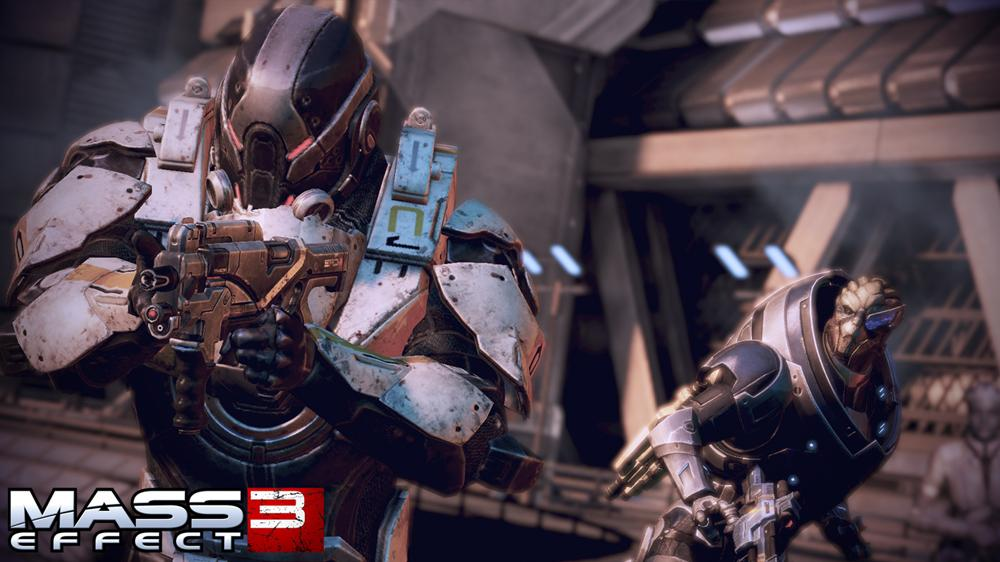 "Image from Mass Effect 3 ""Fall of Earth"" Trailer"