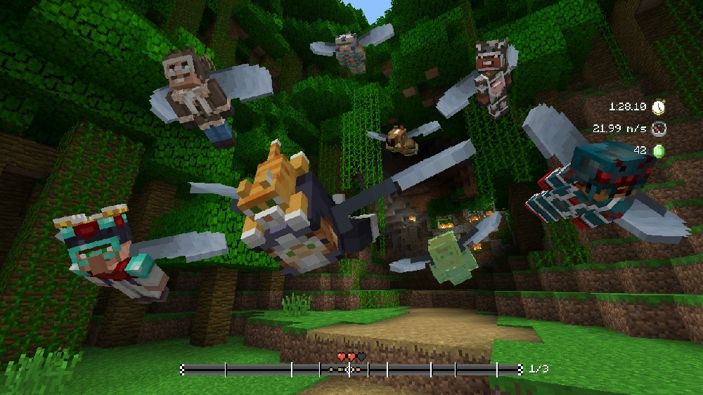 Image from Minecraft Mini Game Heroes Skin Pack