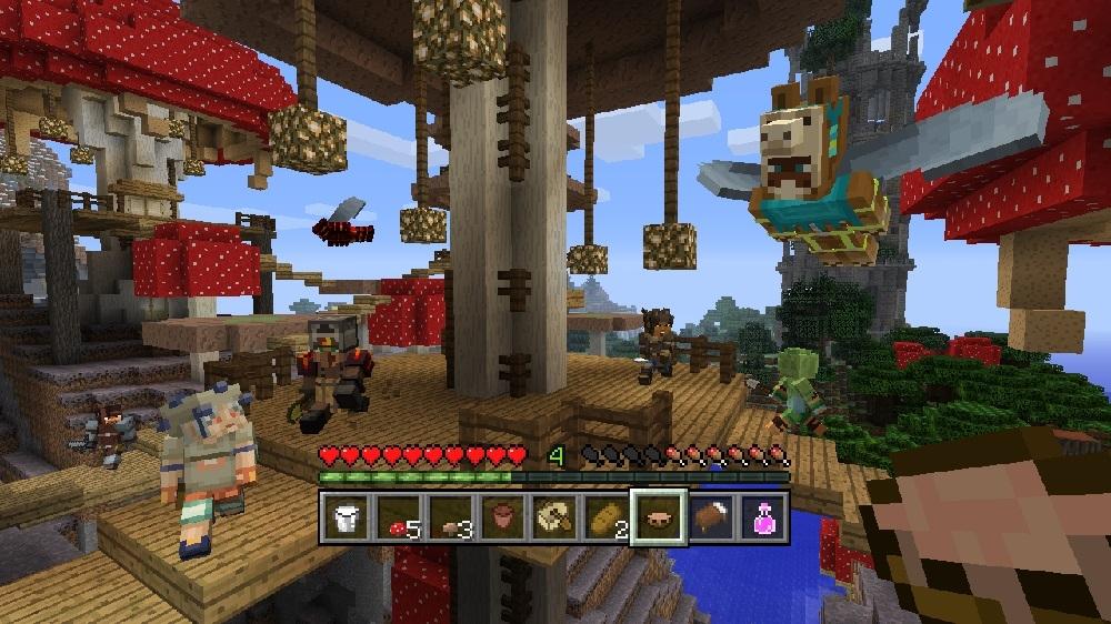 Изображение из Minecraft: набор скинов «Герои мини-игр»