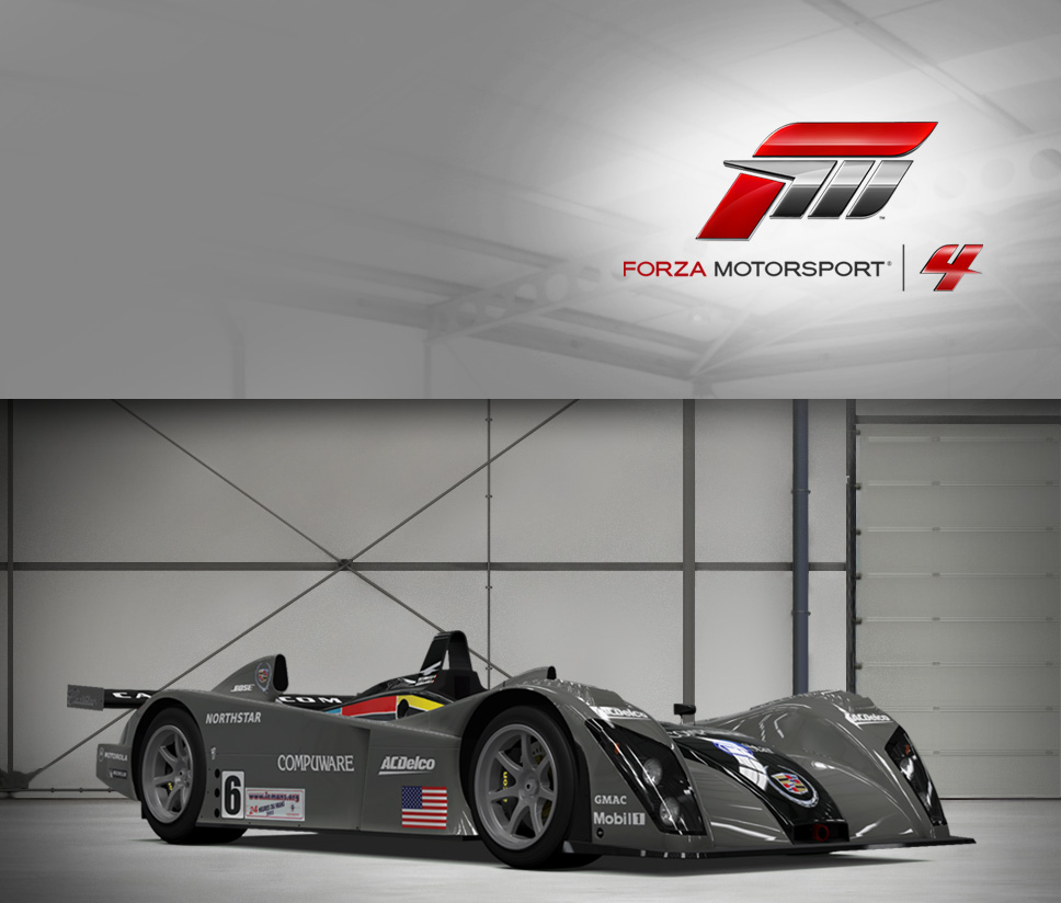 #6 Team Cadillac Northstar LMP-02