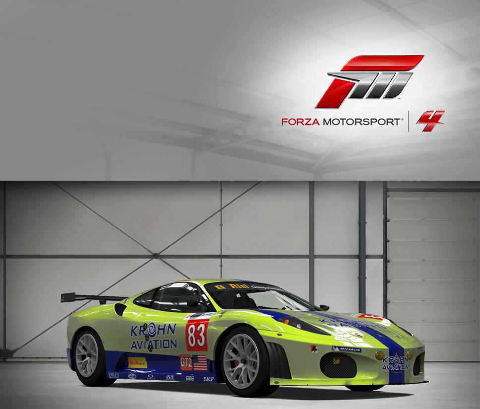 #83 Risi Competizione F430GT