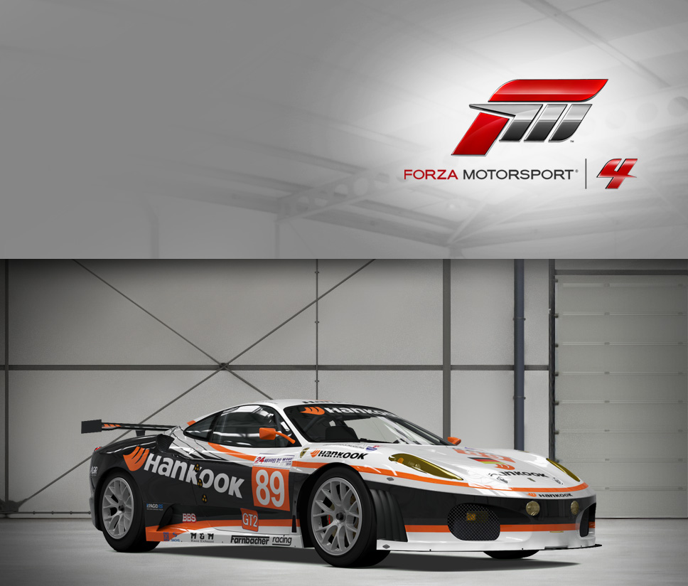 #89 Hankook Team Farnbacher F430GT