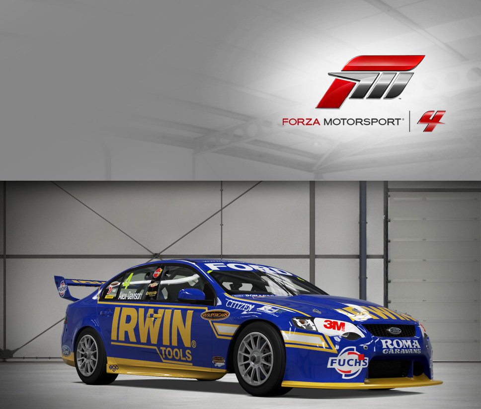 #4 IRWIN Racing FG Falcon