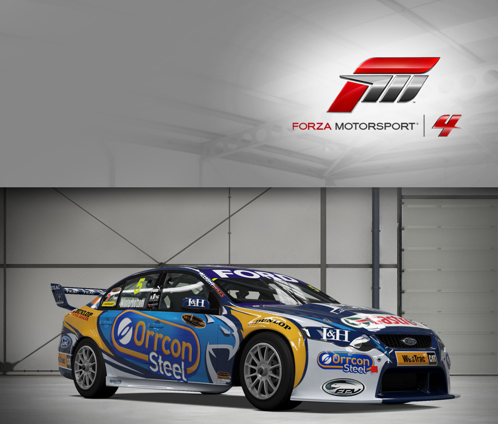 #5 Ford Performance Racing FG Falcon