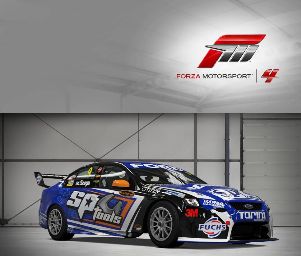#9 SP Tools Racing FG Falcon