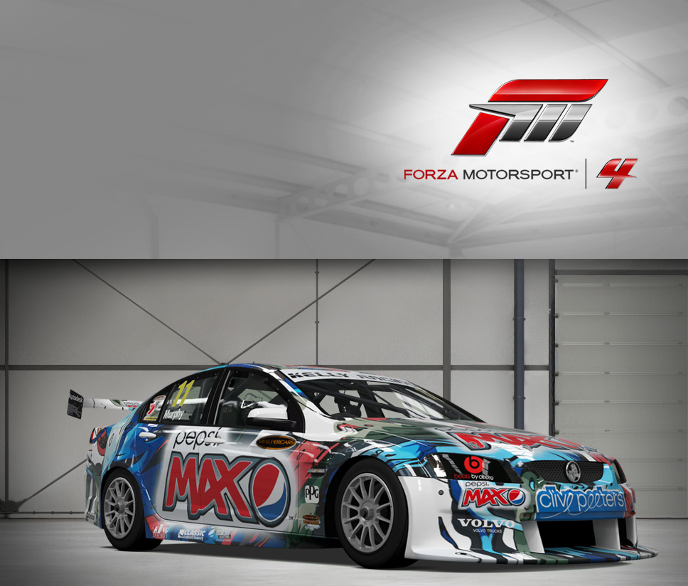 #11 Pepsi Max Crew Commodore VE