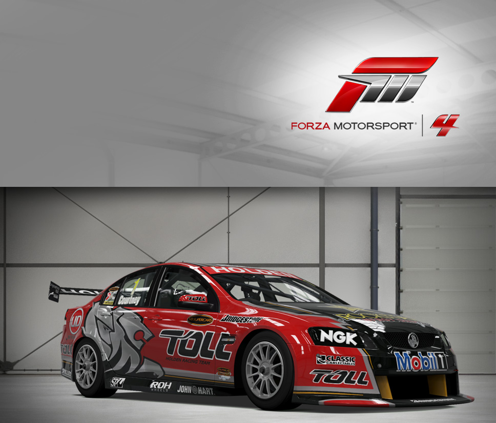 #1 Toll Holden Racing Team Commodore VE