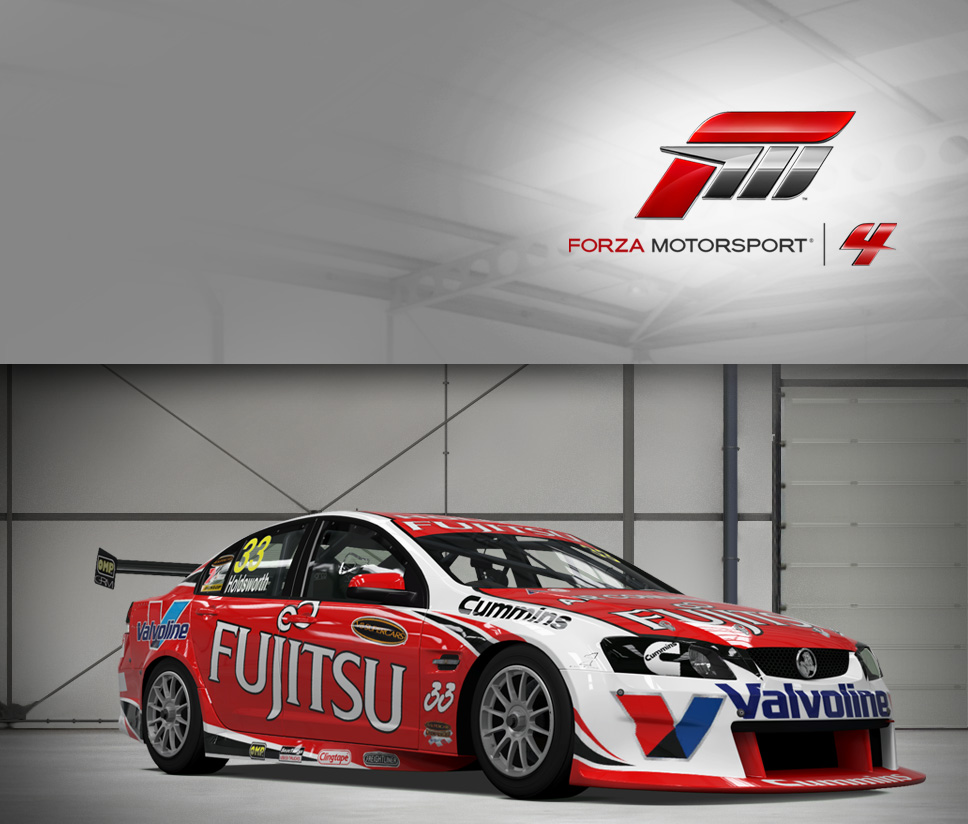 #33 Fujitsu Racing GRM Commodore VE