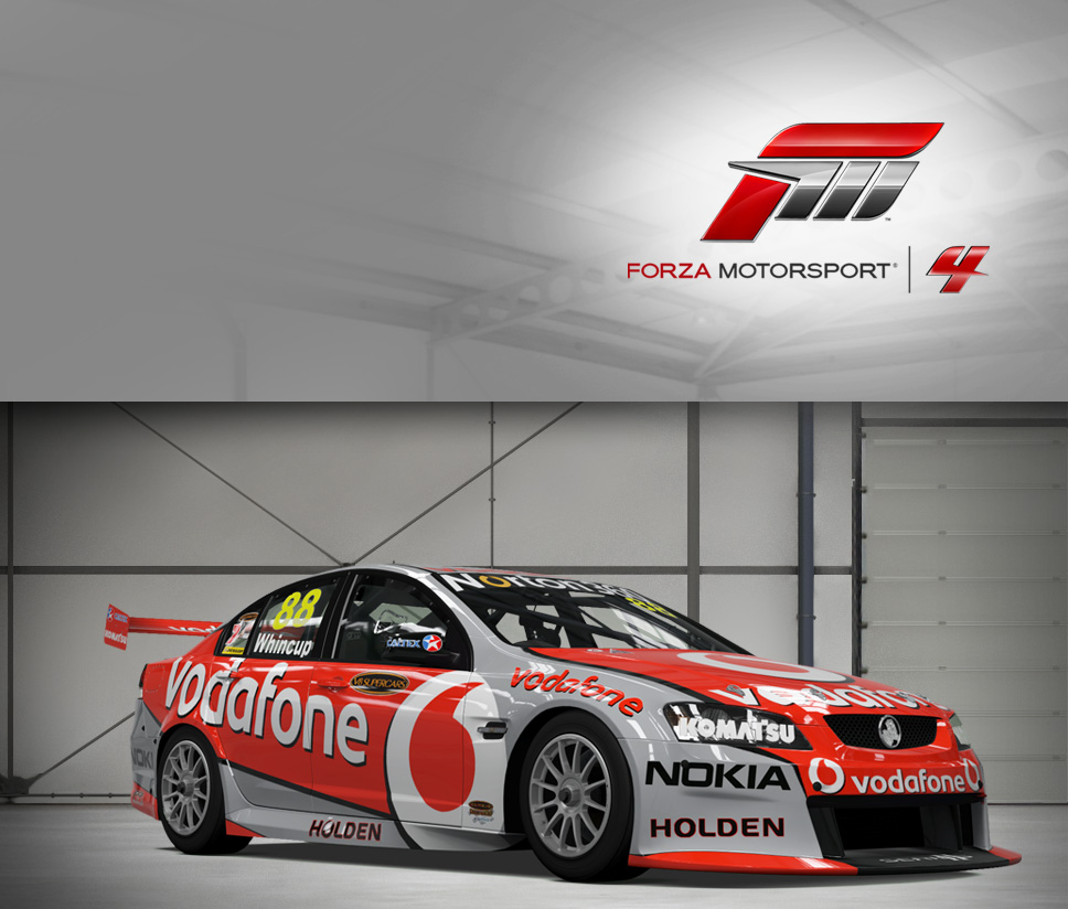 #88 TeamVodafone Commodore VE