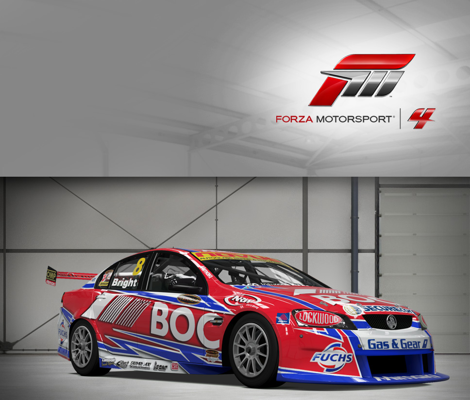 #8 Team BOC Commodore VE