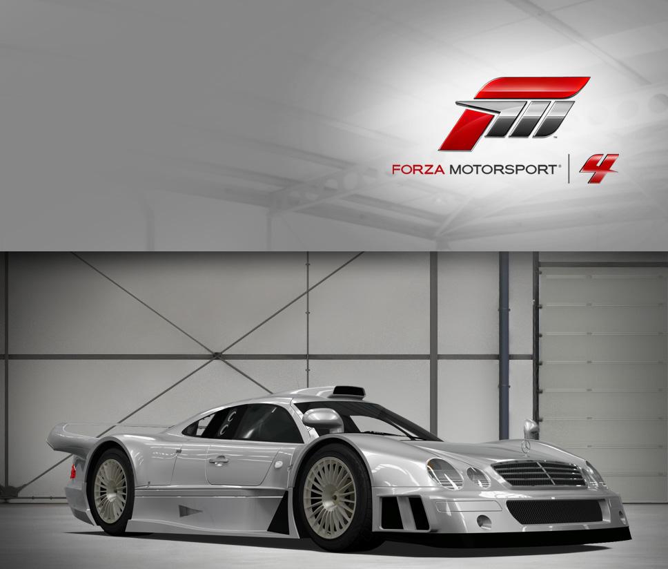 AMG Mercedes CLK-GTR