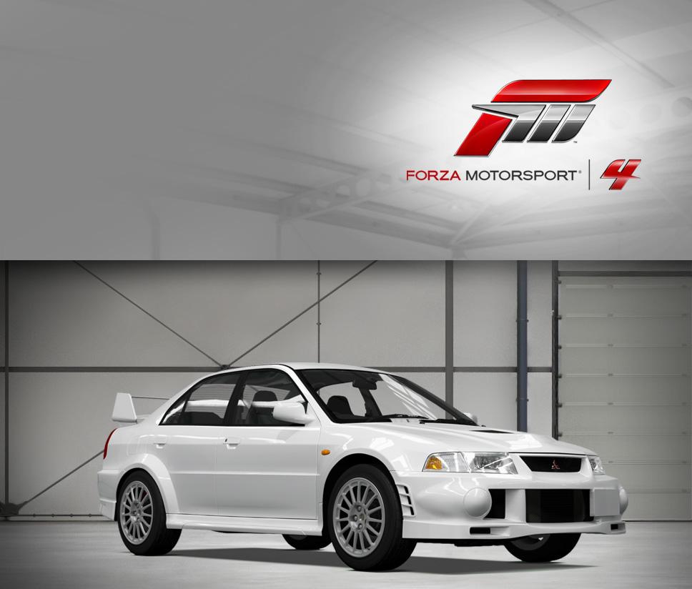 Lancer Evolution VI GSR
