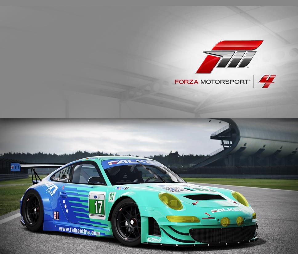 #17 Team Falken 911 GT3-RSR