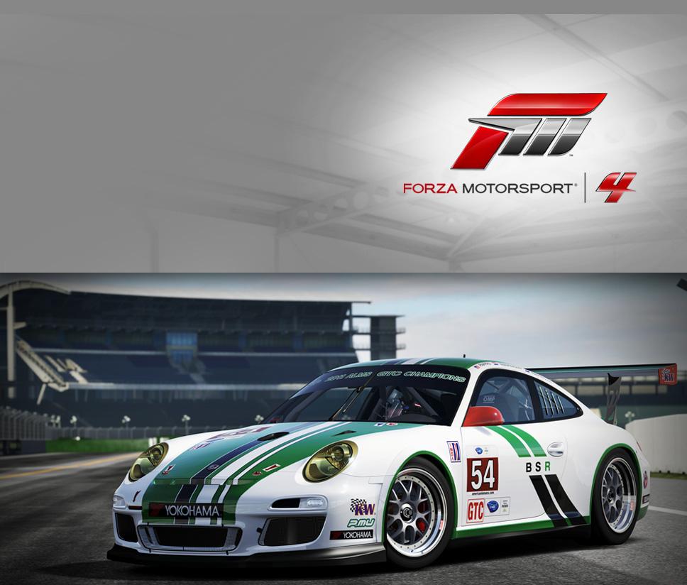 #54 Black Swan Racing 911 GT3 Cup