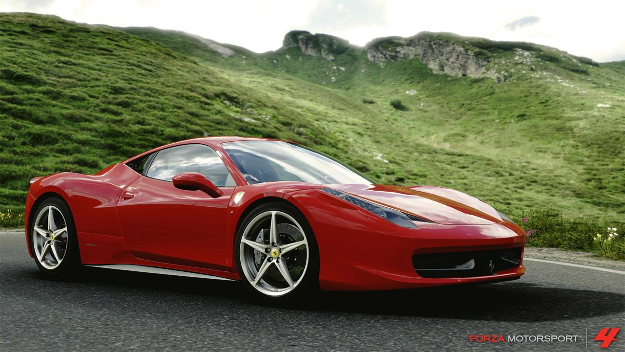 Forza FOURza FM4_2010_Ferrari_458_Italia