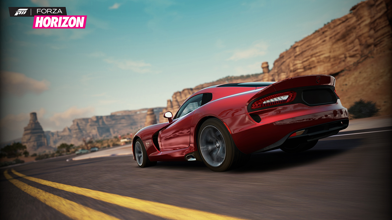 Forza Horizon screen shot
