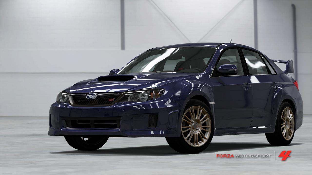Forza FOURza FM4_2011_Subaru_ImprezaWrxSti_Preorder
