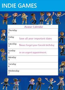 Avatar Calendar