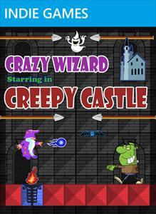 Crazy Wizard in Creepy Castle