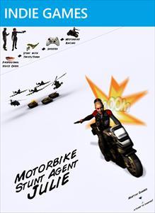 Motorbike Stunt Agent Julie