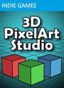 3D Pixel Art Studio