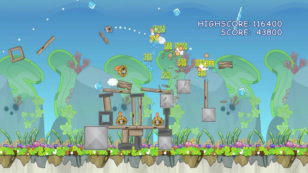 Angry Fish: Deep Sea Screenshot