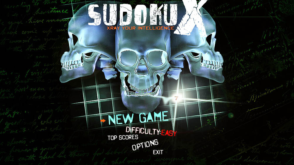 Image from Sudoku X