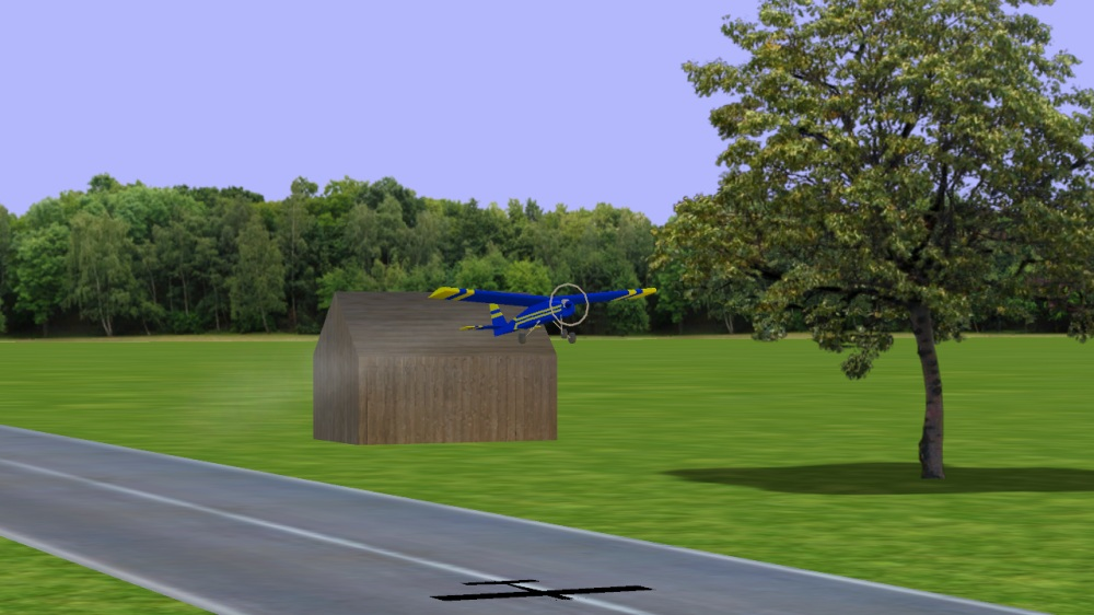 Image from RC-AirSim