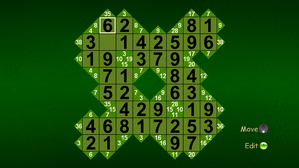 Image from No Frills Cross Sums