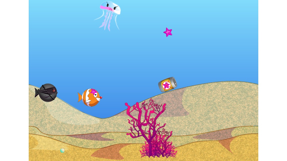 Image from Fish Racer Arcade