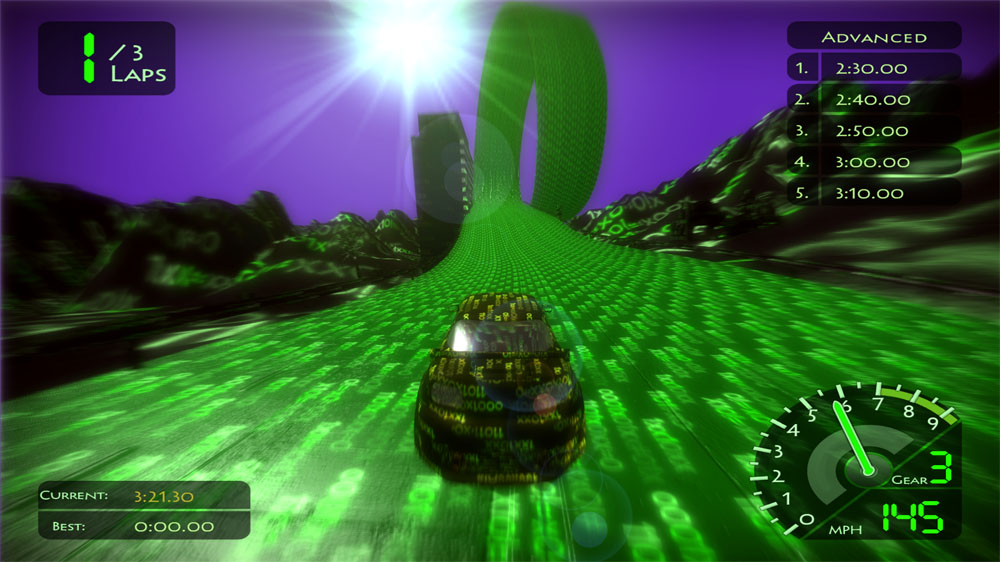 Image from 2060 Cyber Racer