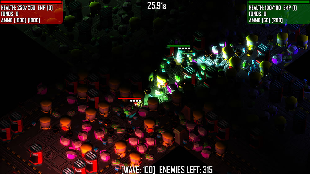 Image from Cyborg Mice Arena