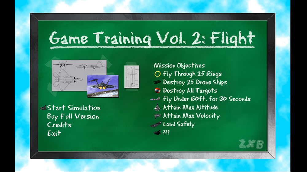 Image from Game Training Vol 2: Flight