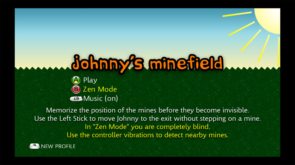 Image from Johnny's Minefield