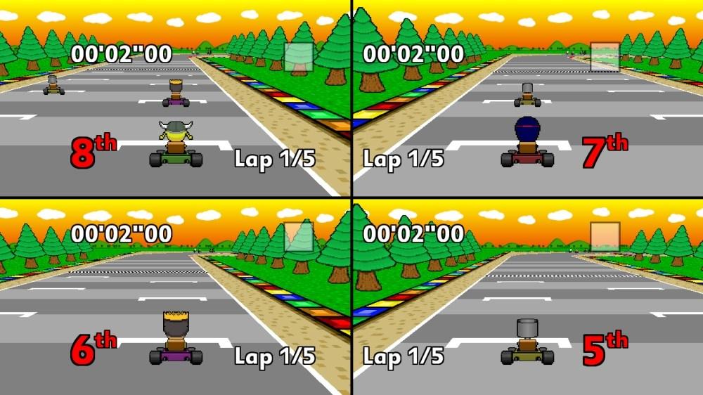 Image from Wacky Karts