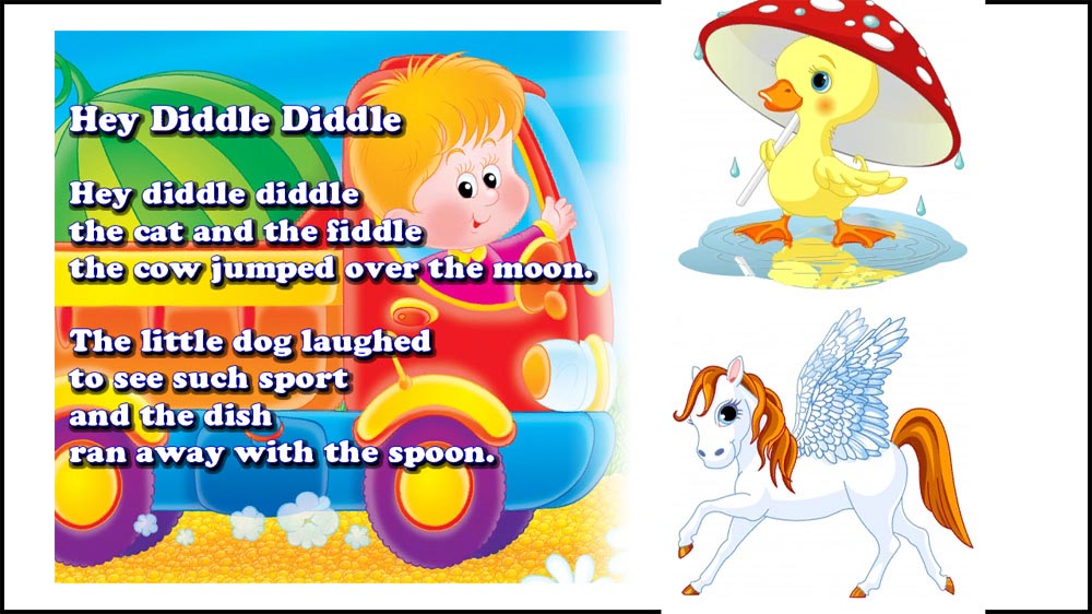 Image from Bed Time Nursery Rhymes